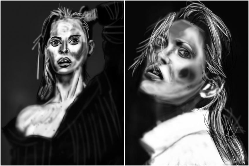 Kate Moss por Zilmari